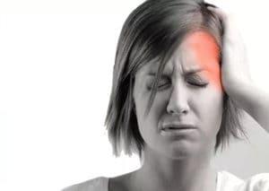 A cluster headache